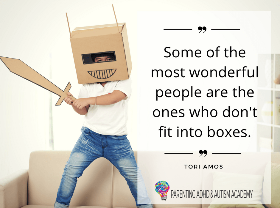 don't fit into boxes